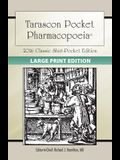 Large Print: Tarascon Pocket Pharmacopoeia 2016 Classic Shirt-Pocket Edition