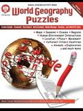 World Geography Puzzles, Grades 6 - 12