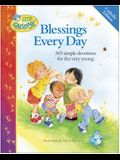 Blessings Every Day: 365 Simple Devotions for the Very Young