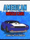 American Muscle Cars Libro de Colorear