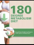180 Degree Metabolism Diet: Track Your Diet Success (with Food Pyramid, Calorie Guide and BMI Chart)