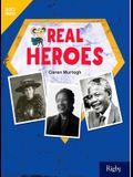 Real Heroes: Leveled Reader Grade 4