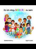 Es ist okay, ANDERS zu sein: ein Kinderbuch über Vielfalt und gegenseitige Wertschätzung