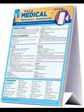 Medical Terminology & Abbreviations Desktop Easel Book: A Quickstudy Reference Tool for Students and Medical, Health & Administrative Fields