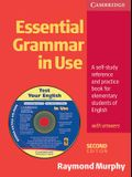Essential Grammar in Use with Answers: A Self-Study Reference and Practice Book for Elementary Students of English [With CDROM]