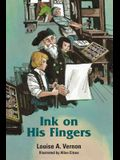 Ink on His Fingers