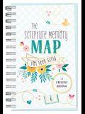 Scripture Memory Map for Teen Girls