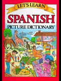 Let's Learn Spanish-Picture Dictionary