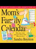 Mom's Family Wall Calendar