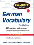 Schaum's Outline of German Vocabulary