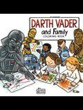 Darth Vader & Family Color Bk