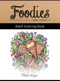 Fancy Food: Adult Coloring Book