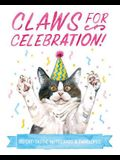 Claws for Celebration Notecards: 20 Cat-Tastic Notecards & Envelopes