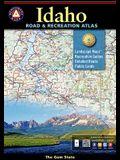 Idaho Benchmark Road & Recreation Atlas