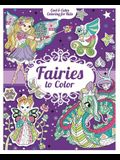 Fairies to Color [With 200 Stickers]