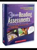 3-Minute Reading Assessments: A Professional Development DVD and Study Guide [With Study Guide]