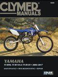 Yamaha Tt-R50, Tt-R110 & Tt-R125, 2004-2017 Clymer Manual: Maintenance * Troubleshooting * Repair