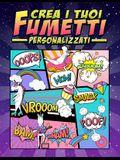 Crea i tuoi fumetti personalizzati: 100 template vergini unici per fumetti per adulti, ragazzi e bambini: copertina di unicorno 2865