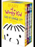 Diary of a Wimpy Kid Box of Books, Books 4-6: Dogs Days/The Ugly Truth/Cabin Fever