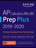 AP Calculus AB & BC Prep Plus 2019-2020: 6 Practice Tests + Study Plans + Targeted Review & Practice + Online
