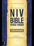 NIV Bible Verse Finder Concordance