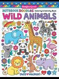 Notebook Doodles Wild Animals: Coloring & Activity Book