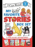 I Can Read My Favorite Stories Box Set: Happy Birthday, Danny and the Dinosaur!; Clark the Shark: Tooth Trouble; Harry and the Lady Next Door; The Ber