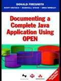 Documenting a Complete Java Application Using Open