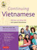 Continuing Vietnamese: Let's Speak Vietnamese [With CDROM]