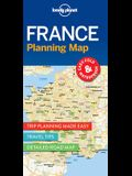 Lonely Planet France Planning Map 1