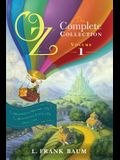 Oz, the Complete Collection, Volume 1, 1: The Wonderful Wizard of Oz; The Marvelous Land of Oz; Ozma of Oz