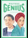Genius Writers (Genius Playing Cards): 52 Playing Cards, Standard Playing Card Deck, Traditional Cards with Suits