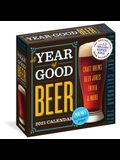 Year of Good Beer Page-A-Day Calendar 2021