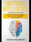 Emotional Intelligence: 6 Books in 1: Emotional intelligence for Leadership + Dark Psychology Secrets + Anger Management + Empath Healing + Me