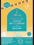 Memorise the Last 15 Surahs of the Qur'an with Word by Word English Translation: Trace and Write the Surahs