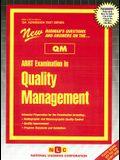 ARRT Examination in Quality Management