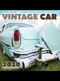 Vintage Car 2020 Mini Wall Calendar