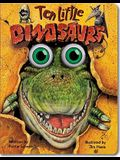 Ten Little Dinosaurs (Eyeball Animation): Board Book Edition
