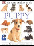 Ultimate Sticker Book: Puppy: More Than 60 Reusable Full-Color Stickers [With More Than 60 Reusable Full-Color Stickers]