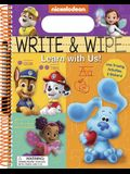 Nickelodeon: Write and Wipe: Learn with Us!