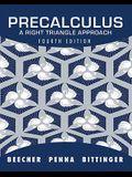 Precalculus: A Right Triangle Approach