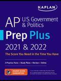 AP U.S. Government & Politics Prep Plus 2021 & 2022: 3 Practice Tests + Study Plans + Targeted Review & Practice + Online