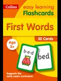 First Words Flashcards: 40 Cards