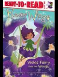 Violet Fairy Gets Her Wings, 1