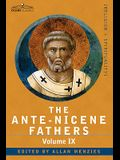 The Ante-Nicene Fathers: The Writings of the Fathers Down to A.D. 325, Volume IX: Recently Discovered Additions to Early Christian Literature;