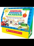 Animal Phonics Readers Class Set: A Big Collection of Exciting Informational Books That Target & Teach Key Phonics Skills