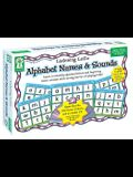 Alphabet Names & Sounds: Learn to Identify Alphabet Letters and Beginning Letter Sounds While Having the Fun of Playing Lotto! [With 180 Game Tokens a