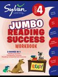 4th Grade Jumbo Reading Success Workbook: 3 Books in 1--Spelling Success, Vocabulary Success, Reading Comprehension Success; Activities, Exercises & T