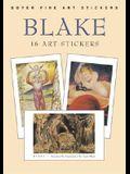 Blake: 16 Art Stickers