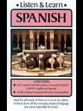 Listen & Learn Spanish [With Cassette(s)]